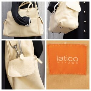 Latico huge All Lthr!!! Weekender NearNew